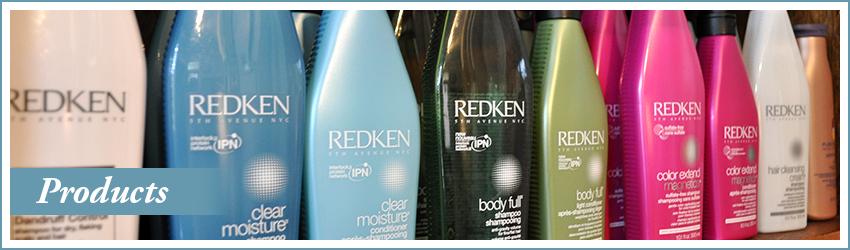 Brian Chapman Salon Products featuring Redken, L'Oreal, styling products, shampoo & conditioner and other treatments