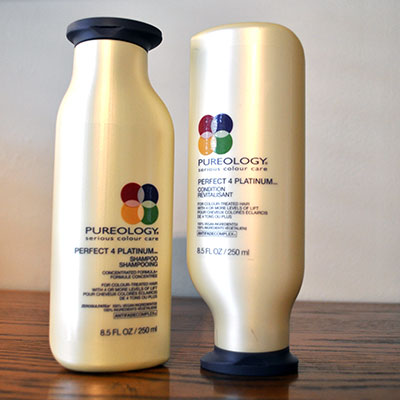 Pureology Shampoo & Conditioner: Perfect for Platinum