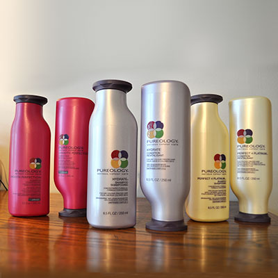 Pureology Shampoo & Conditioner: Smooth Perfection, Hydrate & Perfect for Platinum