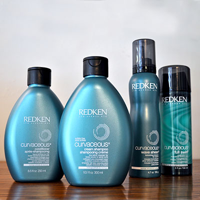 Redken Curvaceous Shampoo, Conditioner, Wave Ahead & Full Swirl Products
