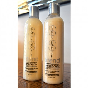 Simply Smooth Keratin Shampoo & Conditioner