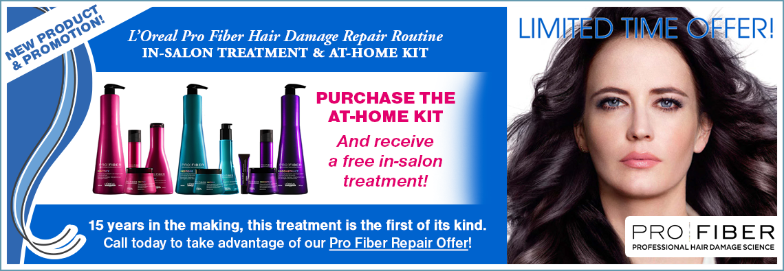 L'Oreal Pro Fiber Hair Repair Treatment: Combining In-Salon and At-Home Hair Care
