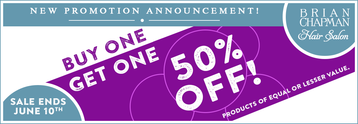Buy One Get One 50% Off Product Promotion