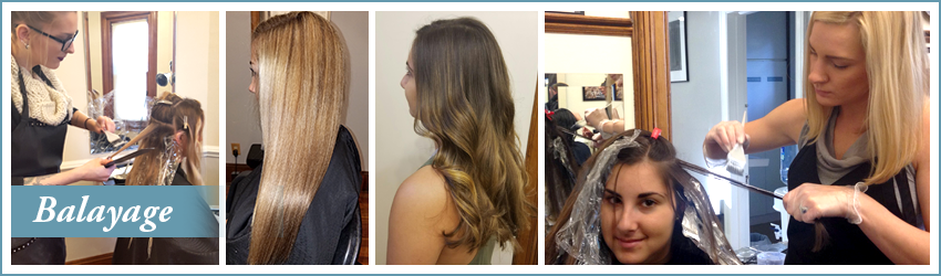 Balayage Services - hand-painted hightlighting hair trends
