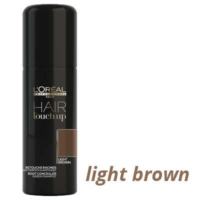 Light Brown L'Oreal Professionel Hair Touch Up Spray at Brian Chapman Hair Salon in Doylestown, PA