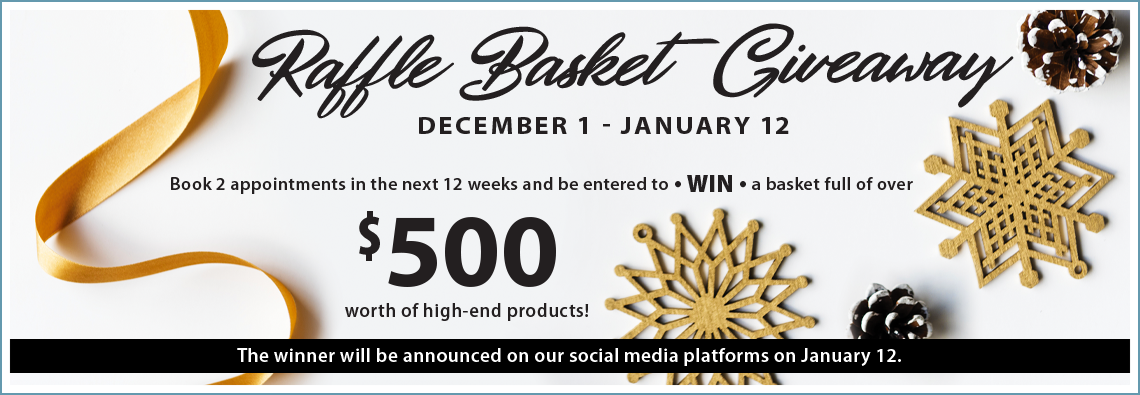 Enter to Win Our Raffle Basket Worth Over $500!