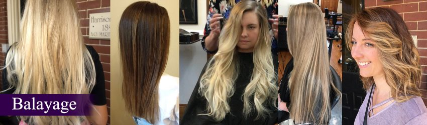 Balayage French Hair Highlighting technique