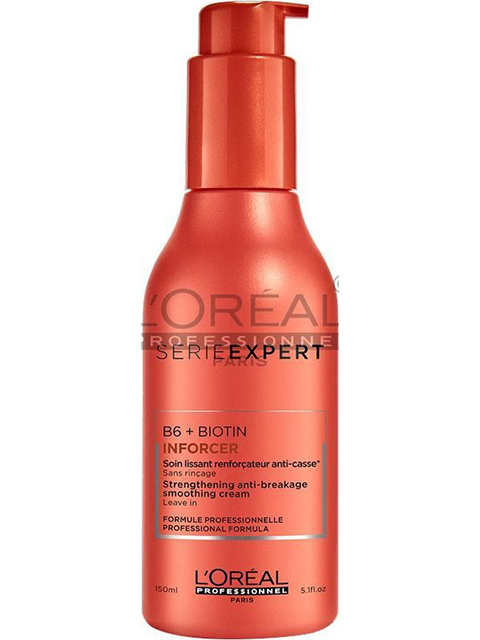 As a styling product in the Serie Expert line, the Inforcer Anti Breakage Cream provides protection to your hair while aiding in the styling process! This will add strength, detangle, and soften your hair.