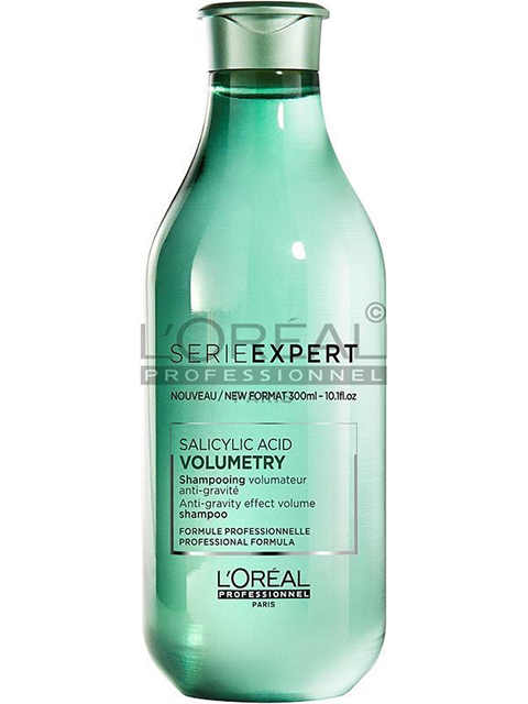 Serie Experts Volumetry Shampoo adds instant volume to lifeless hair without stripping it of all its nutrients.
