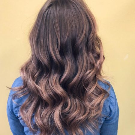 Balayage Hair Painting by Senior Stylist Alyson Hockman